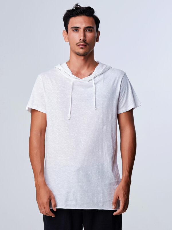 Afterglow Tee White-1
