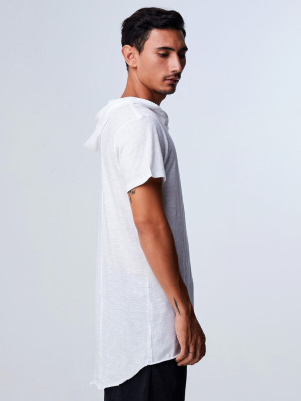 Afterglow Tee White-2