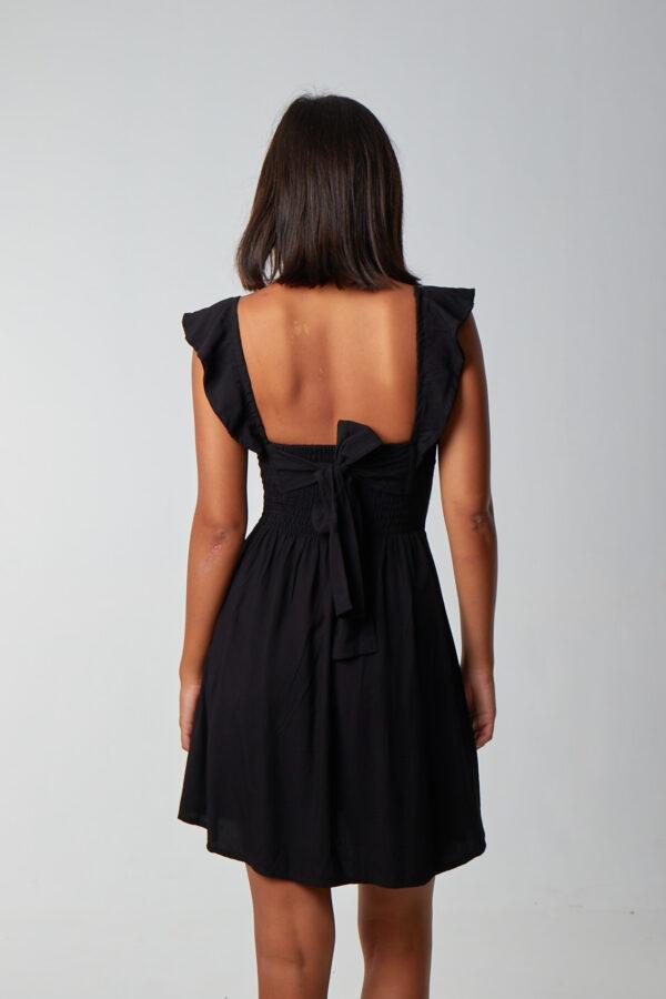 Love Spread Dress Black-2