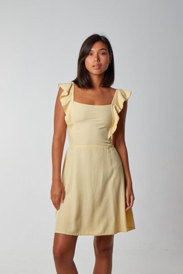 Love Spread Dress Lemon-1