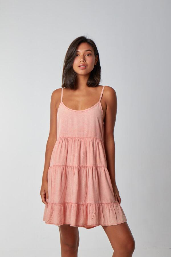 Lullaby Dress Peach_1