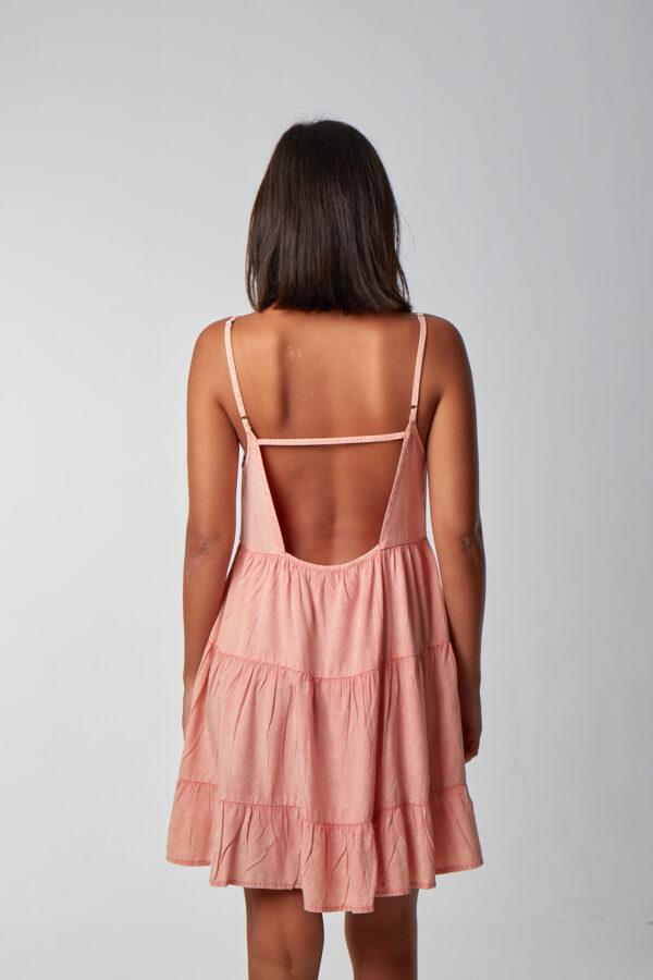 Lullaby Dress Peach_2