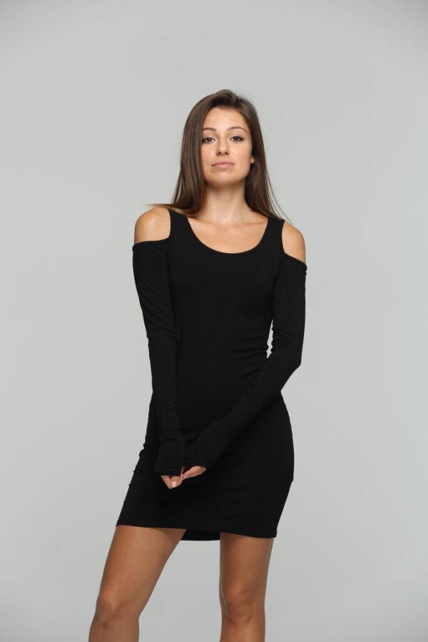 Moon Light Dress Black-1