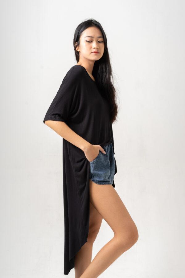Summer Shine Dress Black-2