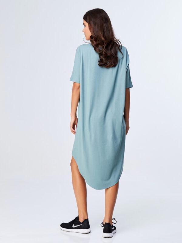 Summer Shine Dress Moss Green-3