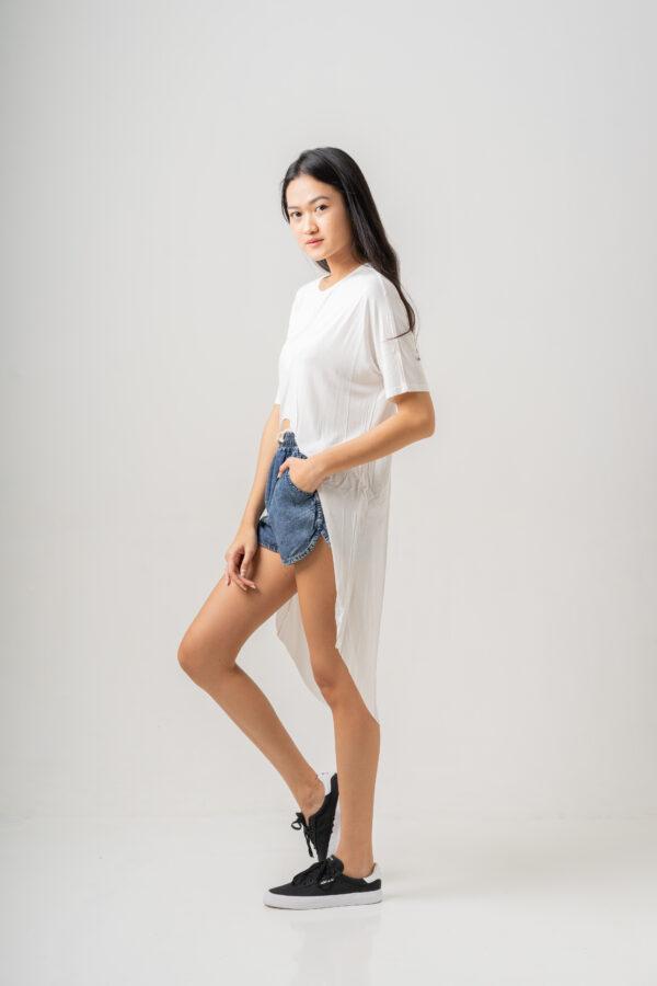 Summer Shine Dress White-2