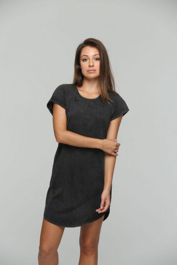 Teardrop Dress Black Acid-1