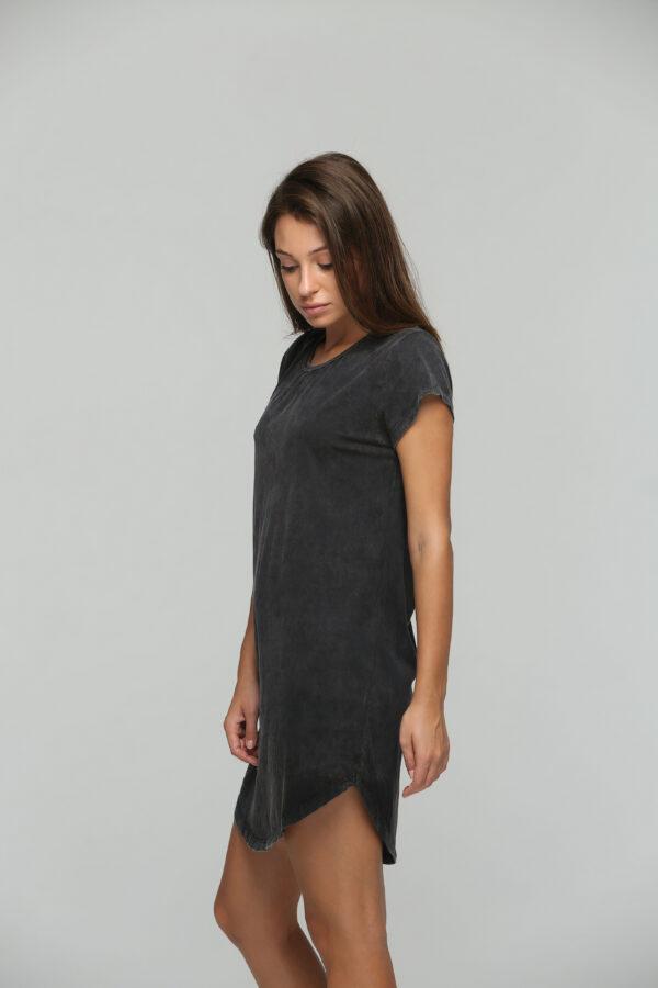 Teardrop Dress Black Acid-2