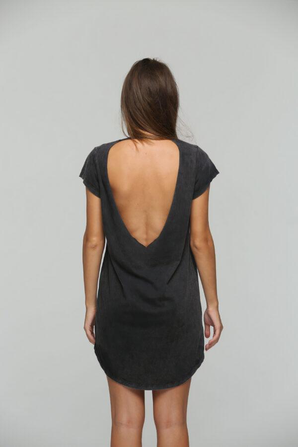 Teardrop Dress Black Acid-3