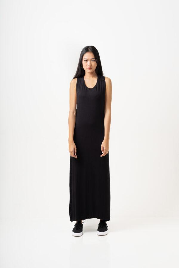 Twisted Dress Black-1