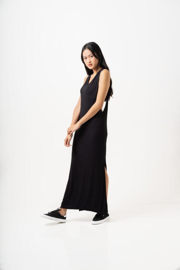 Twisted Dress Black-2