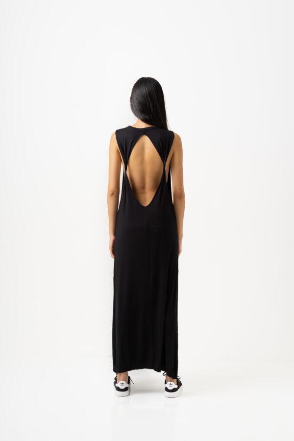 Twisted Dress Black-4